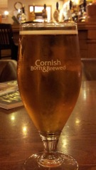 Cornish born and brewed.