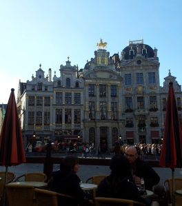 Brewers' House (with horse on top), Grand Place, Brussels