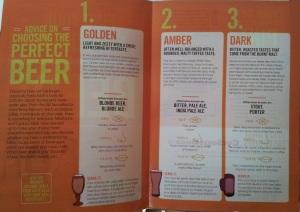Morrisons beer leaflet inside