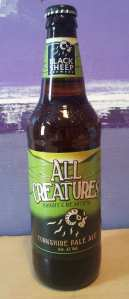 All Creatures - Black Sheep's first new permanent bottled beer since 2005.
