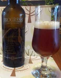 Progress - Black Sheep's 20th anniversary beer