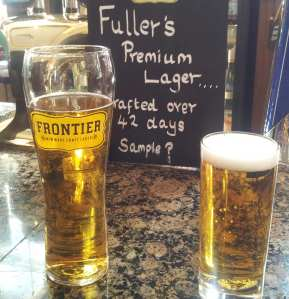 Fullers branches out with its new Frontier lager