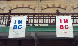 IMBC cask keg banners