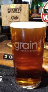 Holidays call for great session beers, like Grain Brewery Oak.