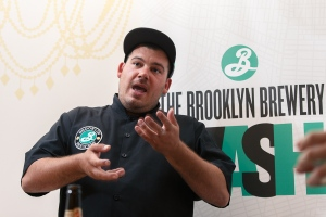 Brooklyn Brewery Chef Andrew Gerson