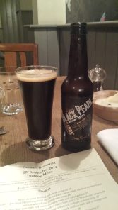 Gadds' black pearl oyster stout