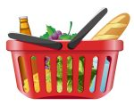 fruits_and_vegetables_and_shopping_basket_01_vector