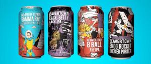 Pic courtesy Beavertown - their award-winning can designs