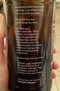 Data beer back label 2