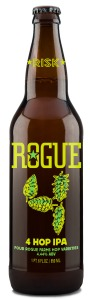 Rogue 4 Hop: tastes and smells absolutely stunningly fresh and delicious!